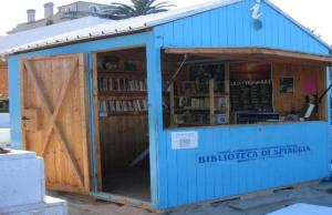 The project of the 'Library on the Beach' in Grottammare