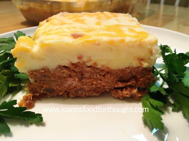 Cowboy Meatloaf With Cheesy Mashed Potatoes